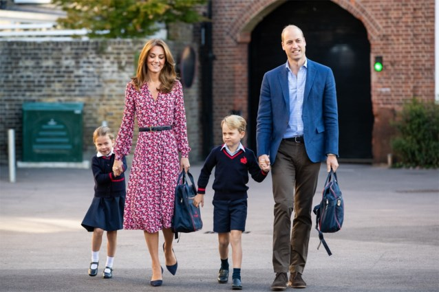 Kinderen op school van Britse prins George en prinses Charlotte in quarantaine geplaatst uit vrees voor corona