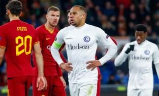 LIVE. Koude douche voor AA Gent: Kluivert brengt AS Roma snel langszij