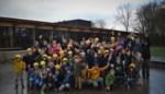 Kinderen ravotten voor het eerst in (en vooral naast) nieuwe gebouwen De Warande