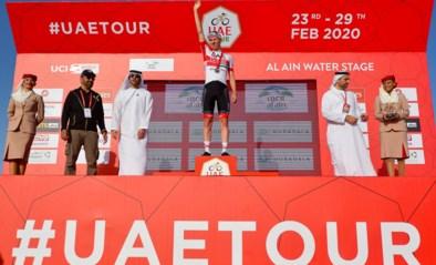 UAE Tour wordt stopgezet door coronavirus, twee Italiaanse stafleden besmet