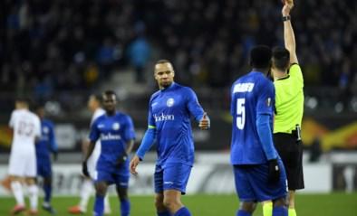 Gent-spelers woest op Spaanse arbiter