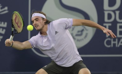 Tsitsipas plaatst zich als eerste voor finale in ATP Dubai