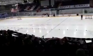 Match in Europa League afgelast? Frankfurt-fans gaan dan maar massaal in Salzburg supporteren bij een lokale ijshockeymatch