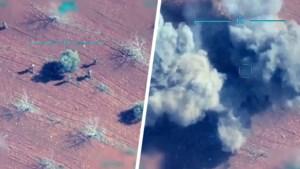 Turkije deelt video van militaire aanval op Syrië