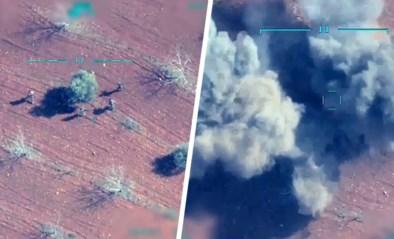 """Turkije deelt video van militaire aanval op Syrië: """"Alle bekende doelen worden aangevallen"""""""