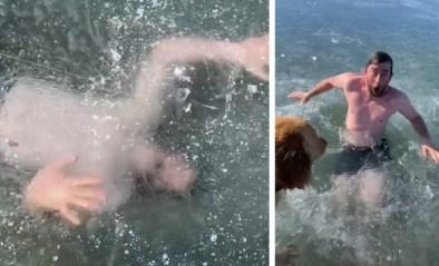"""Tiktok-ster kijkt dood in de ogen als stunt misgaat: """"Ik had al geaccepteerd dat ik het niet ging halen"""""""