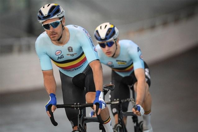 """Kenny De Ketele en Robbe Ghys vijfde in ploegkoers op WK: """"In Tokio kunnen we medaille pakken"""""""