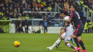 Nainggolan met Cagliari onderuit tegen Roma
