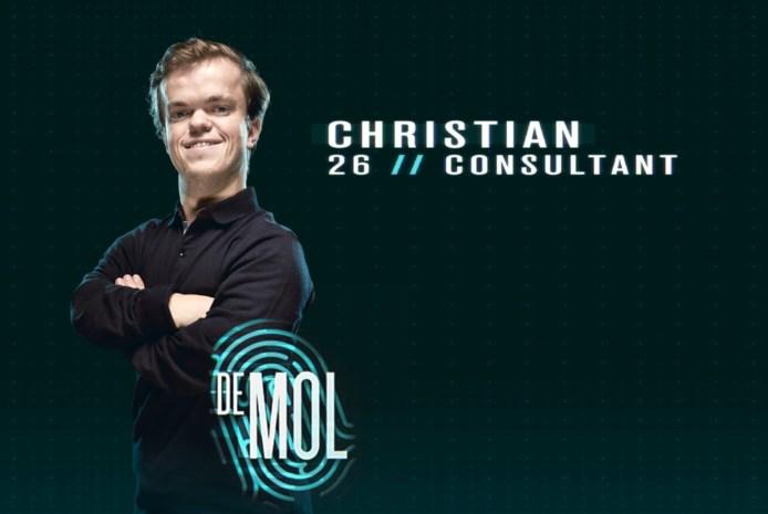 """Voor het eerst neemt man met beperking deel aan 'De mol': """"Christians lengte? Die speelt geen rol"""""""