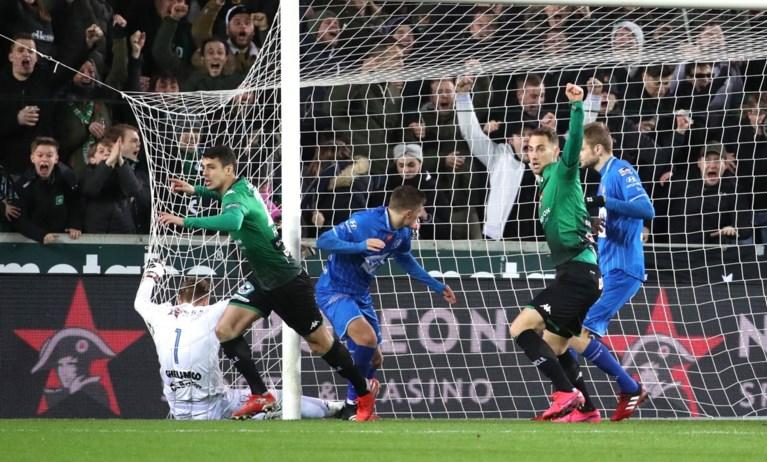 Bijna gered. Cercle kan na 1-0-zege tegen AA Gent zaterdag behoud afdwingen in derby