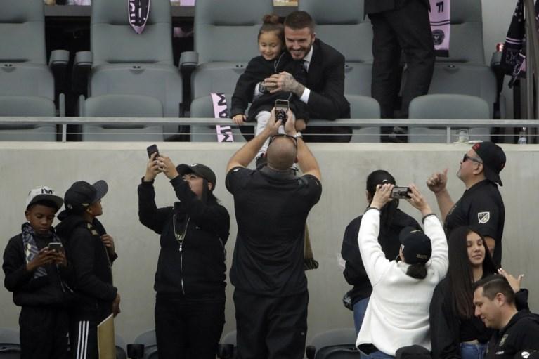 David Beckham steelt de show, maar ziet nieuwe MLS-ploeg verliezen door 'Degryse-goal' (en ook Pozuelo scoorde)