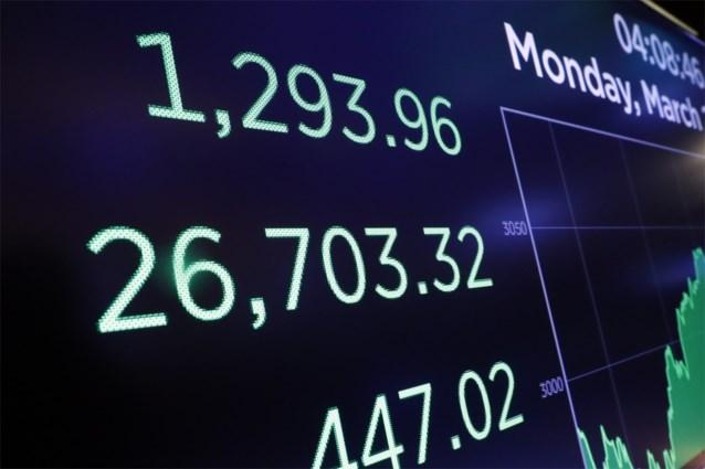 Coronavirus: Wall Street toont krachtig herstel