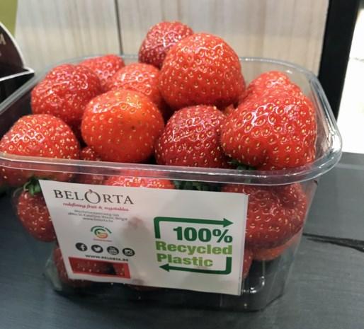 Eerste aardbeien van het seizoen geveild in Borgloon