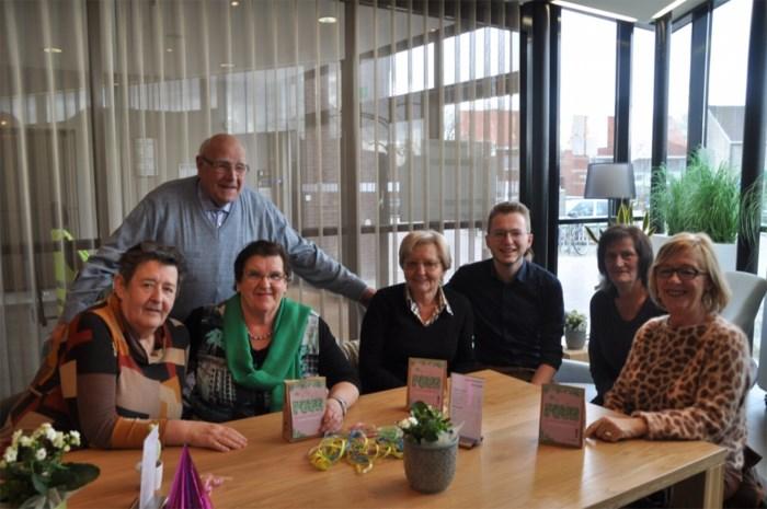 Vrijwilligers in Nieuwerkerken vandaag in de bloemetjes gezet