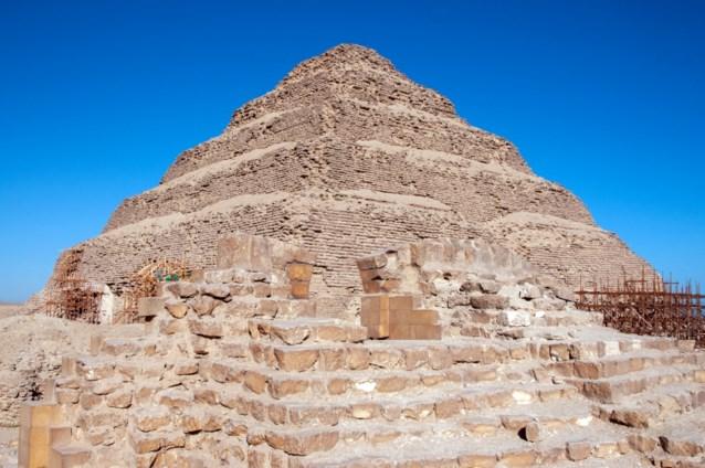 Oudste piramide van Egypte opnieuw open na renovatie