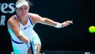 Yanina Wickmayer stoot door in dubbelspel Indian Wells
