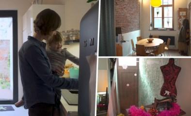 BINNENKIJKEN. Geert en Katrien creëren meer openheid en licht in hun Brusselse rijhuis