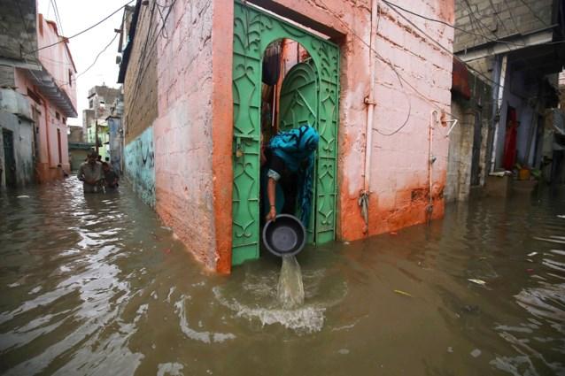 Zeker elf doden bij zware regenval in Pakistan