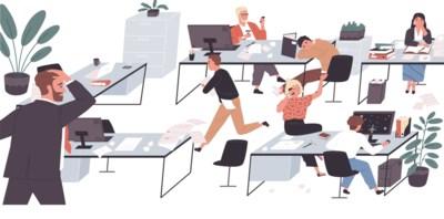 Druk, druk, druk en dat ligt vooral aan je collega's: zo krijg je toch werk gedaan in een open kantoor