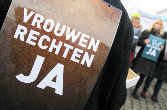 Honderden voeren in Brussel actie voor vrouwendag