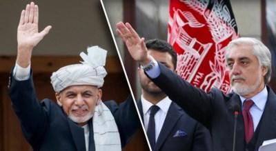 Ze vinden allebei dat ze de verkiezingen gewonnen hebben, en dus heeft Afghanistan nu twee presidenten