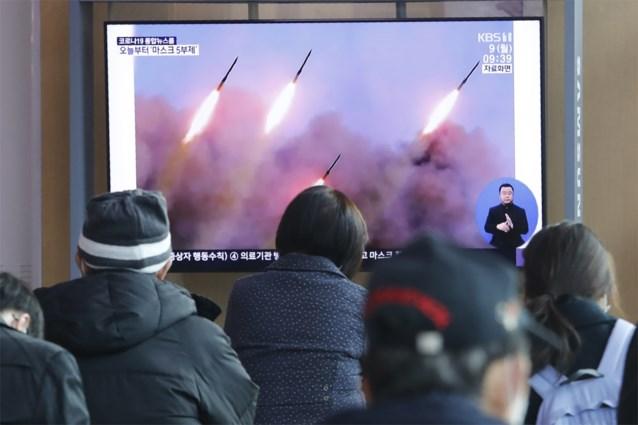 """""""Noord-Korea lanceert drie korteafstandsraketten"""""""