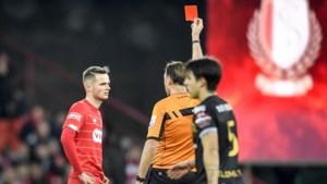 Bondsparket vordert drie wedstrijden schorsing voor Zinho Vanheusden, maar Standard gaat niet akkoord