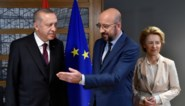 Ontmoeting tussen Europees president Michel en Turks president Erdogan levert geen doorbraak op in vluchtelingencrisis