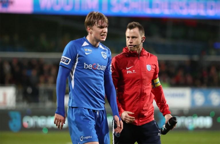 Pech voor KRC Genk: seizoen is nu al voorbij voor middenvelder Kristian Thorstvedt