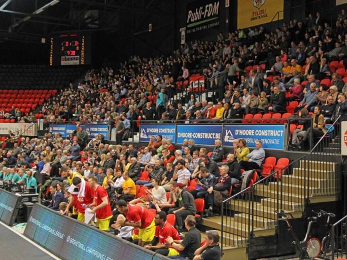 Oostende dwingt na knappe triomf - met publiek! - een belle tegen Tenerife af in Champions League