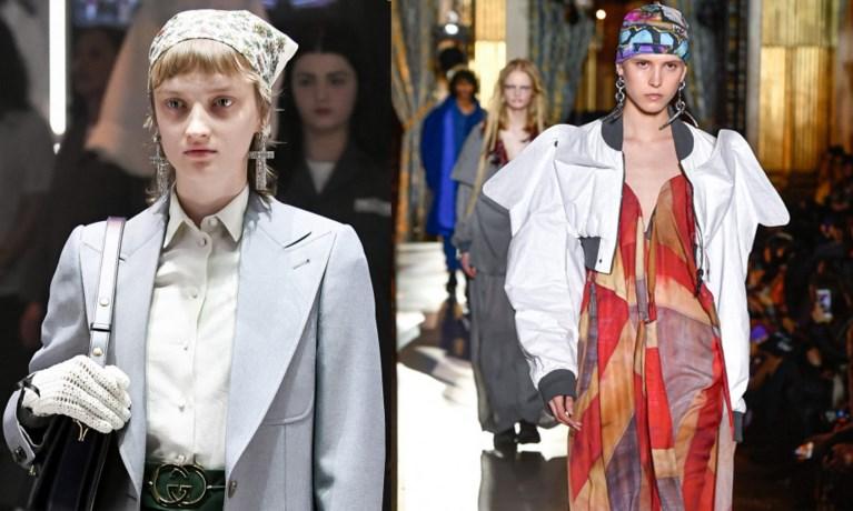 Modemerken in de ban van de bandana
