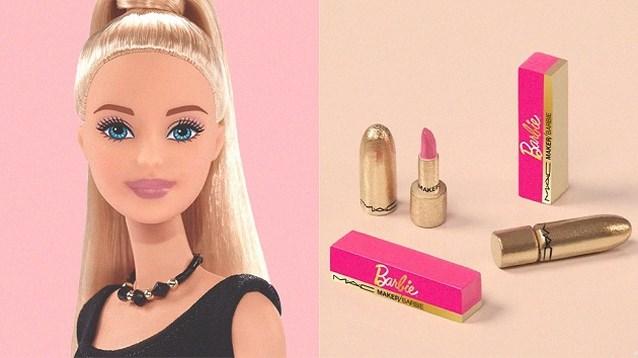 Barbie krijgt haar eigen lippenstift bij M.A.C Cosmetics