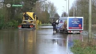 Aanhoudende regen veroorzaakt wateroverlast in Diepenbeek en Herk-de-Stad
