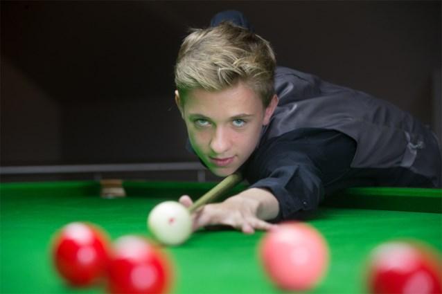 Amper 18-jarige Sybren Sokolowski snookert zich op hoofdtabel van de Gibraltar Open