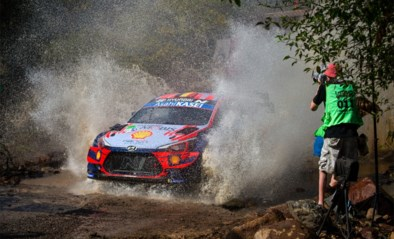 Thierry Neuville moet opgeven in Rally van Mexico, Sébastien Ogier blijft op kop