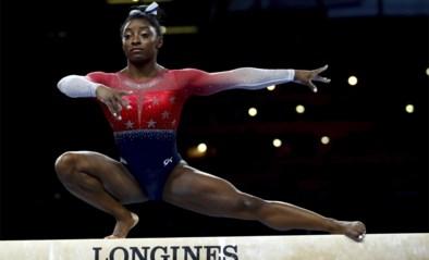 Amerikaanse turnbond wenst topgymnaste Simone Biles een gelukkige verjaardag, maar die reageert geprikkeld