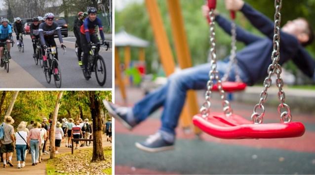 Crisiscentrum lanceert nieuwe regels rond coronavirus: binnen- en buitenspeeltuinen moeten gesloten blijven, ook fiets- en wandeltochten in groep verboden