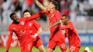 Junior Edmilson krijgt in Qatar bezoek van bondscoach Roberto Martinez