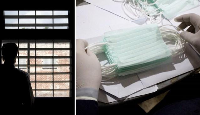 Gevangenen nemen zelf initiatief in strijd tegen corona: mondmaskers 'made in prison'