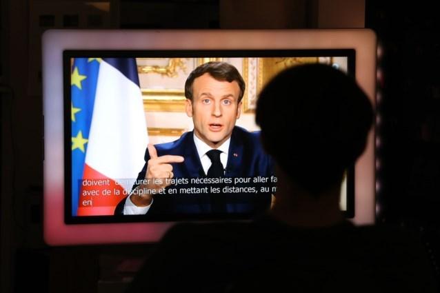 Frankrijk gaat 15 dagen in lockdown, president Macron stuurt leger de straat op
