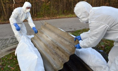 Inzameling asbest uitgesteld omdat beschermkledij naar ziekenhuizen gaat