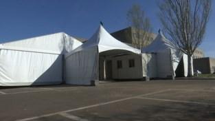 Mariaziekenhuis opent tent om patiënten te selecteren