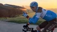 """Oliver Naesen vertrok voor dag en dauw voor trainingstocht van liefst 365 km: """"Af en toe eens iets onnozel doen"""""""