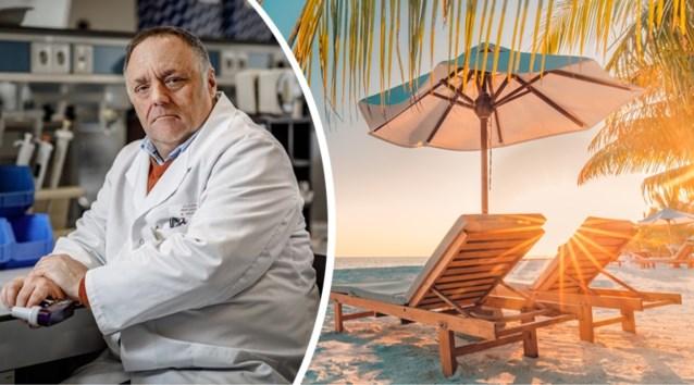 """Marc Van Ranst: """"Ga deze zomer niet op reis"""""""