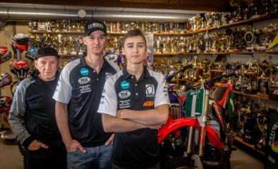 """Motorcrosser Liam treedt in de voetsporen van grootvader Harry en vader Stefan Everts: """"Ik denk soms: ik zal hen eens iets laten zien"""""""