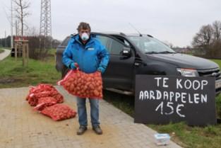 Verkoop aan exporteurs helemaal stilgevallen, dus teler brengt aardappelen rechtstreeks aan de man