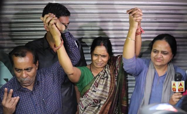 Vier mannen opgehangen voor groepsverkrachting van studente in India