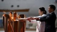 Olympische vlam Tokio 2020 aangekomen in Japan