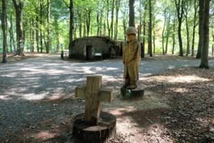 Nieuwe parking aan bunkers Mastenbos