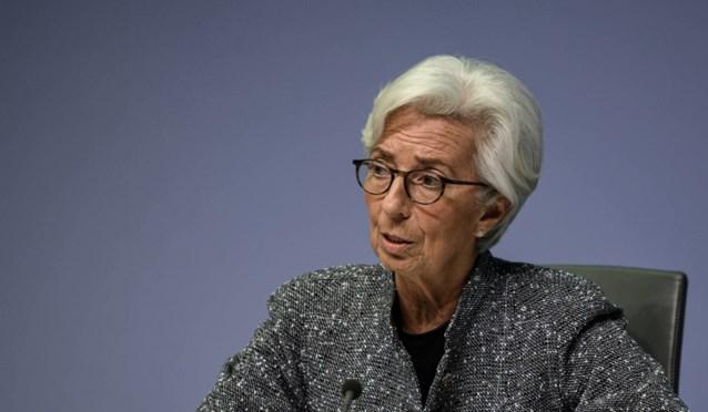 """Voorzitster Europese Centrale Bank verwacht """"aanzienlijke recessie"""" in eurozone door coronacrisis"""